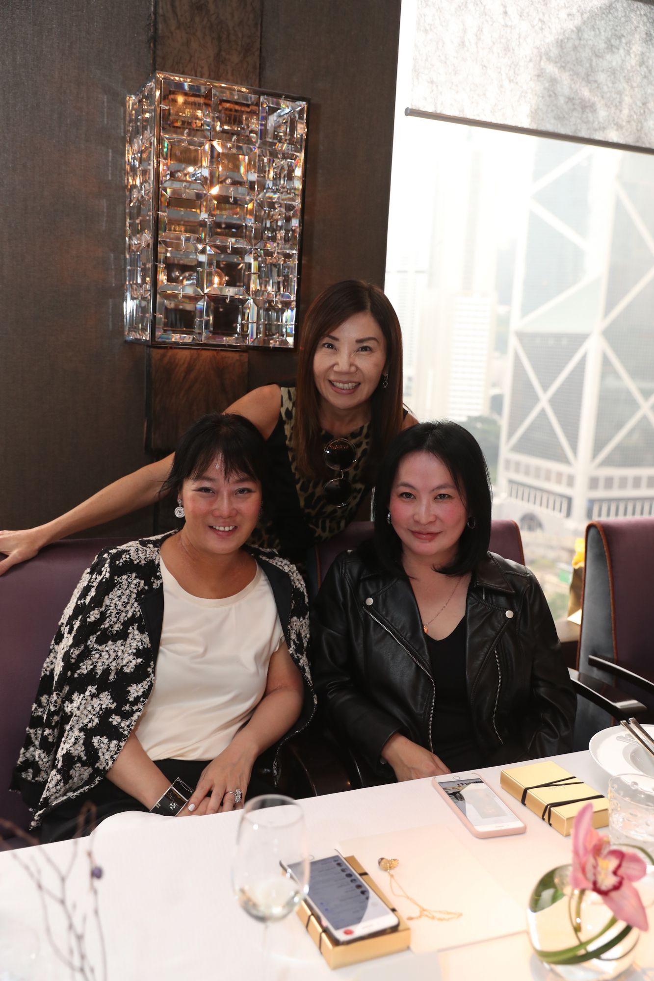 Jennifer Liu, Esther Ma, Jo Soo-Tang