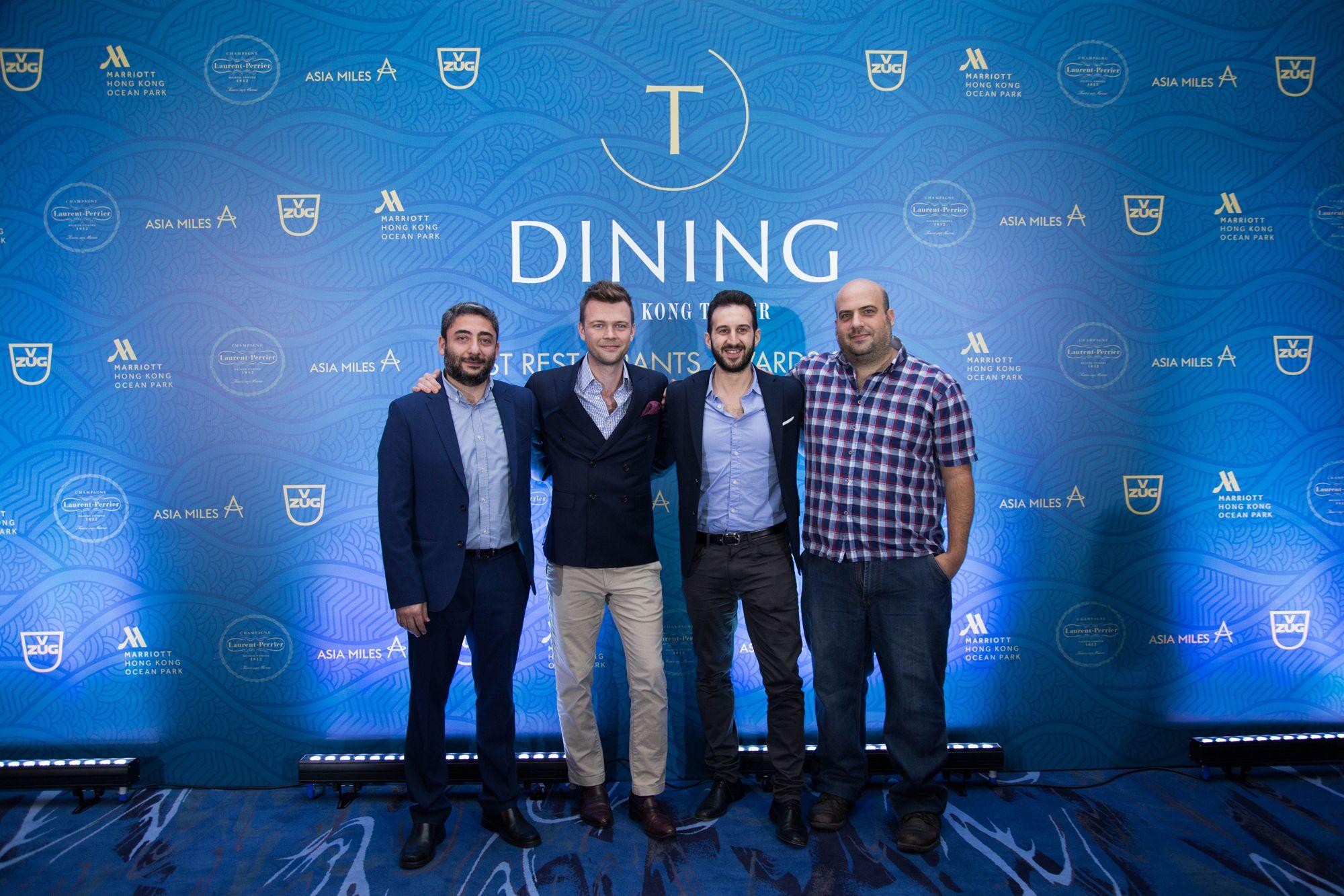 Jad Sfeir, James Ward, Simone Sammuri, Asher Goldstein