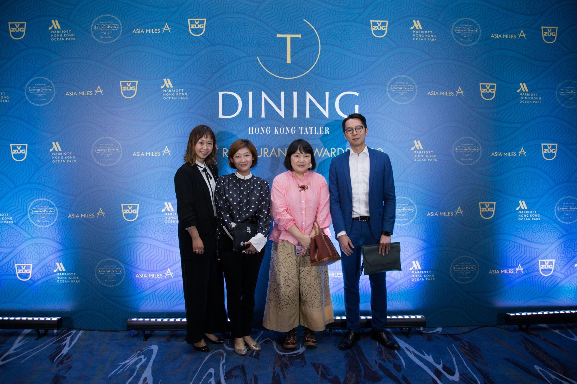 Peggy Cheng, Bonnie Kwok, Emily Tong, Clarence Liu