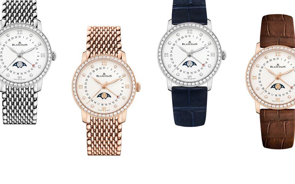 Blancpain's Villeret Quantième Phases de Lune Watch Is A Timeless Christmas Gift