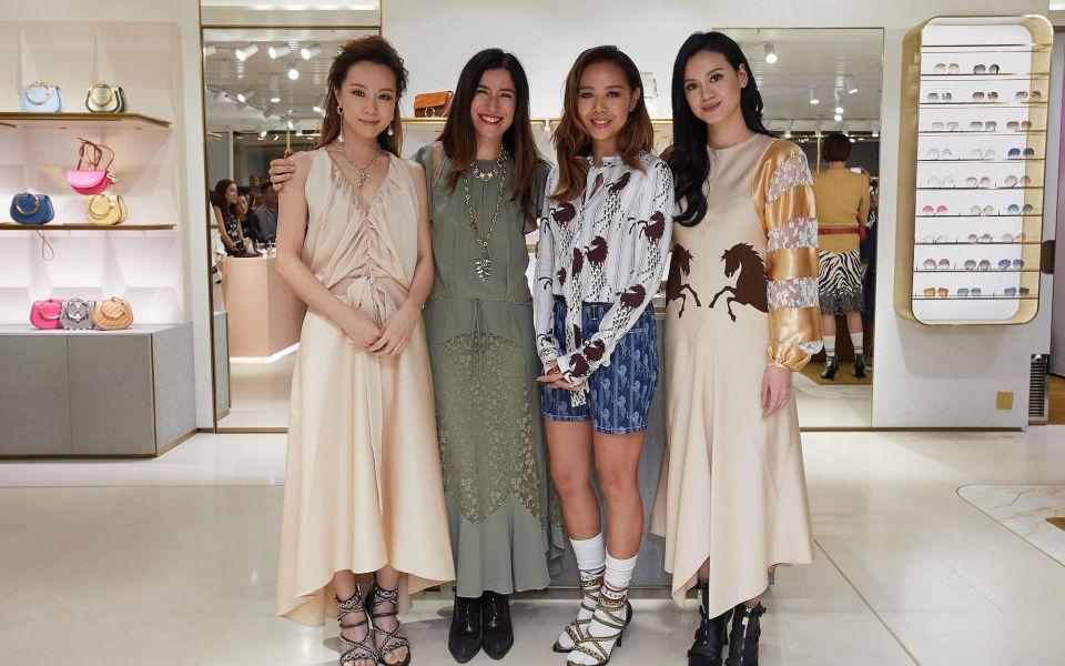 Stephy Tang, Laetitia Mergui Hentz, Margaret Chung, Emily Lam-Ho