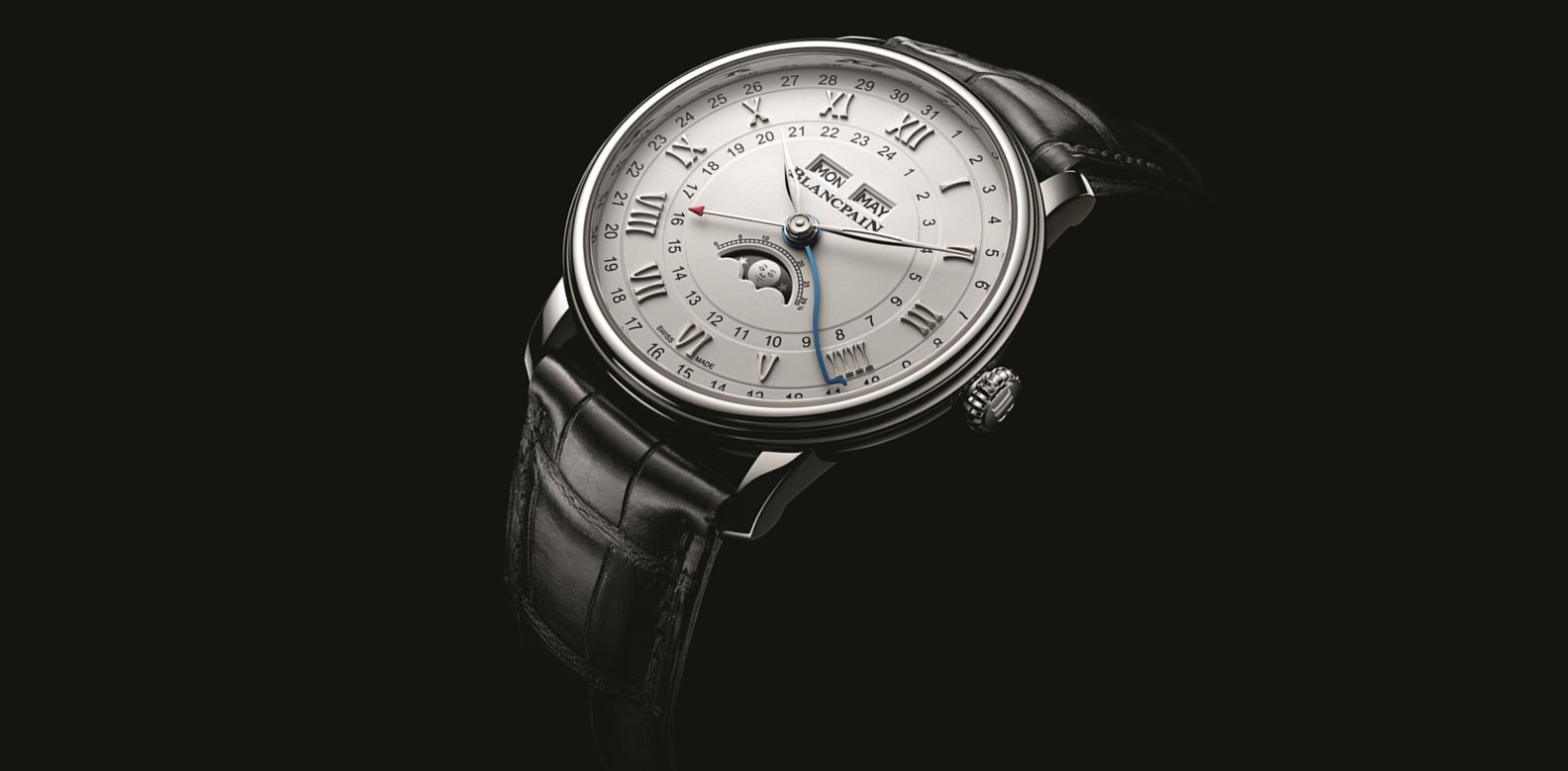 Blancpain's Villeret Quantième Complet GMT Watch Is A Classic Christmas Gift