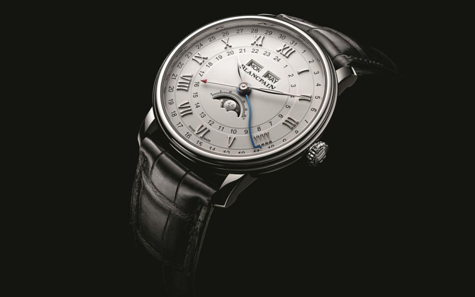 Blancpain's Villeret Quantième Complet GMT Watch Is A Classic Christmas Gift