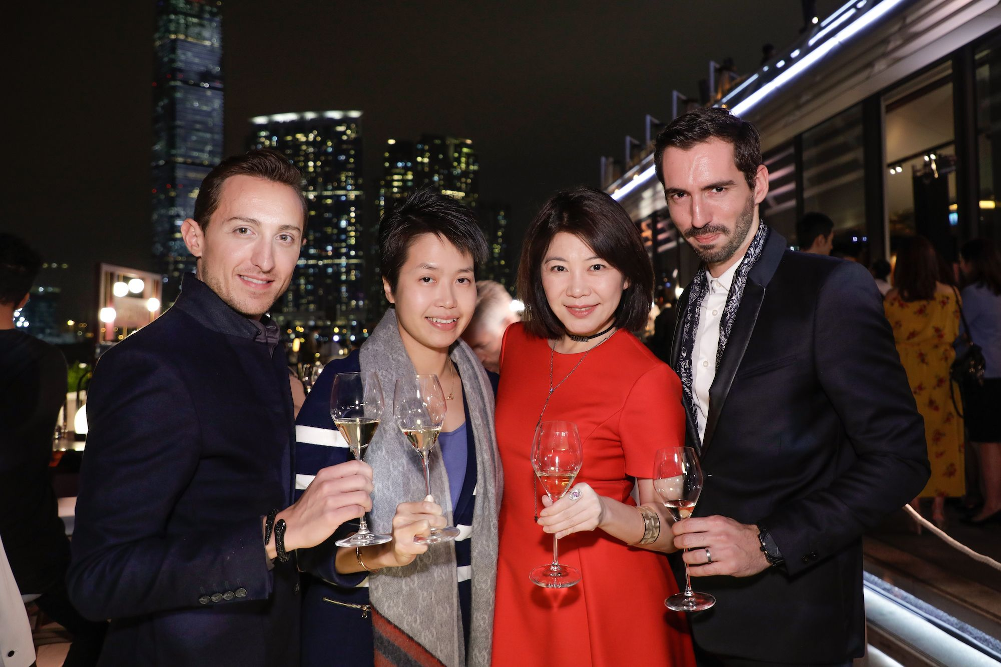Julien Loïc-Garin, Katherine Lo, Bella Chhoa and Pierre-Louis Guillon