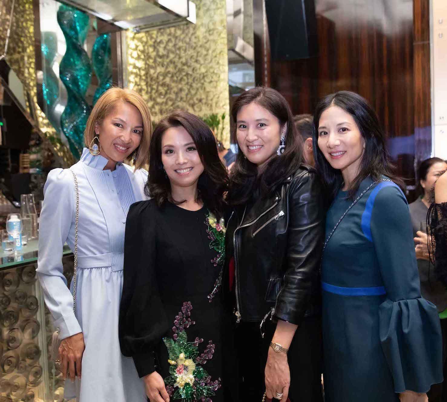 Yolanda Choy-Tang, Anne Wang-Liu, Leigh Tung-Chou, Audry Ai-Morrow