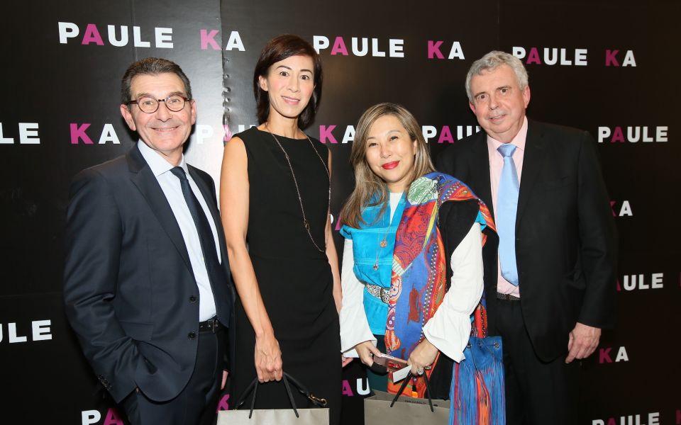 Alain Quillet, Patricia Tung-Gaw, Lumen Kinoshita, David Parker