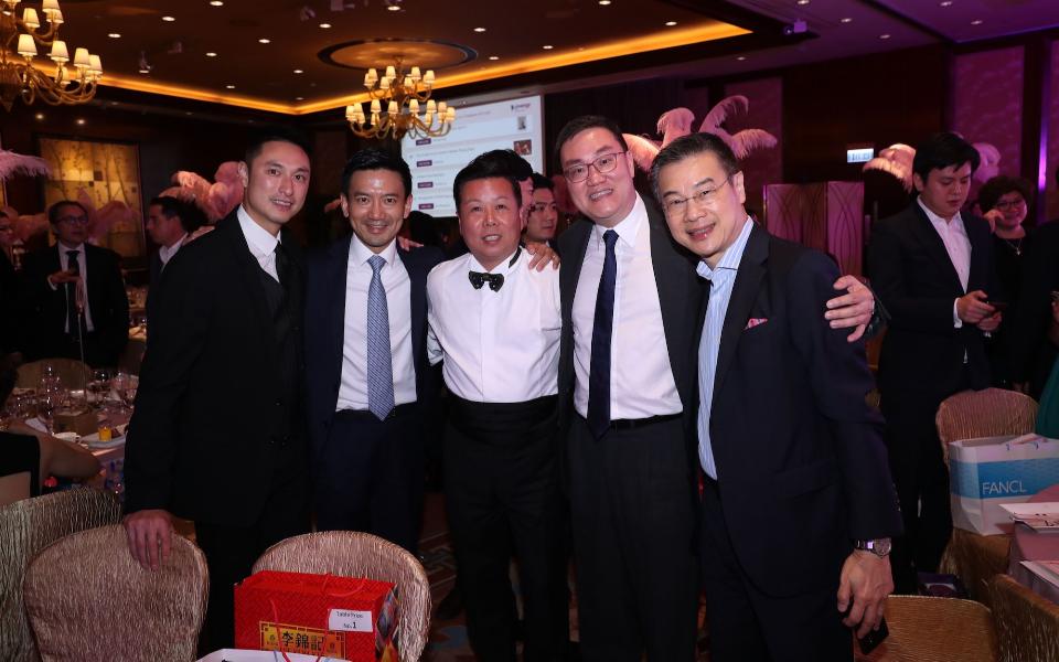 Alan Chan, Ronald Kwok, James Louey, Wilson Pong, Alfred Tam