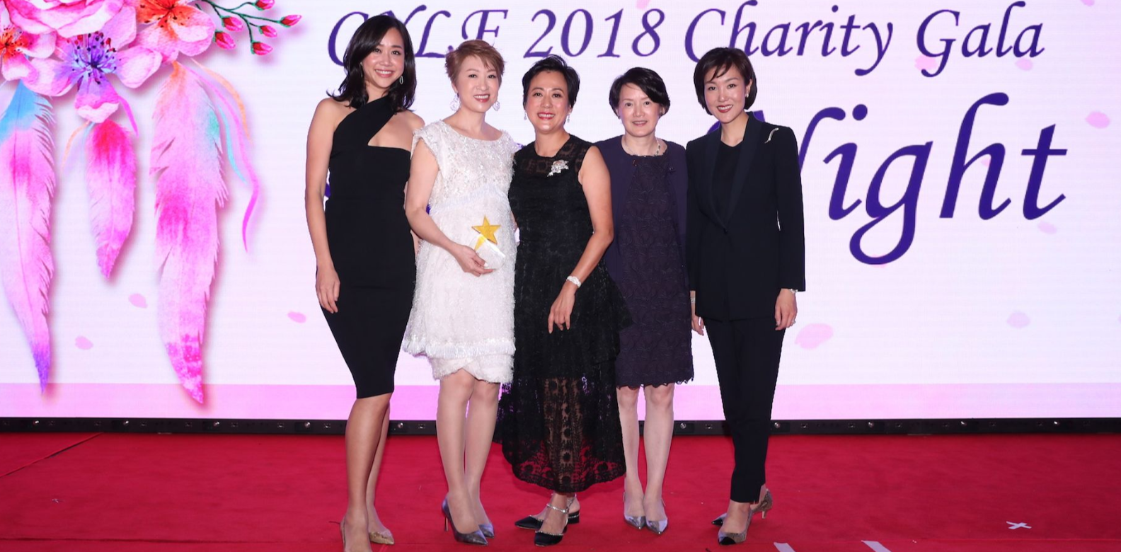 Angie Ting, Michelle Ma-Chan, Yvette Ho, Sheilah Chatjaval, Jane Chao-Lee