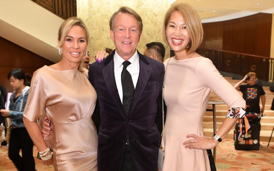 Annabelle Bond, Ken Hitchner, Yolanda Choy-Tang