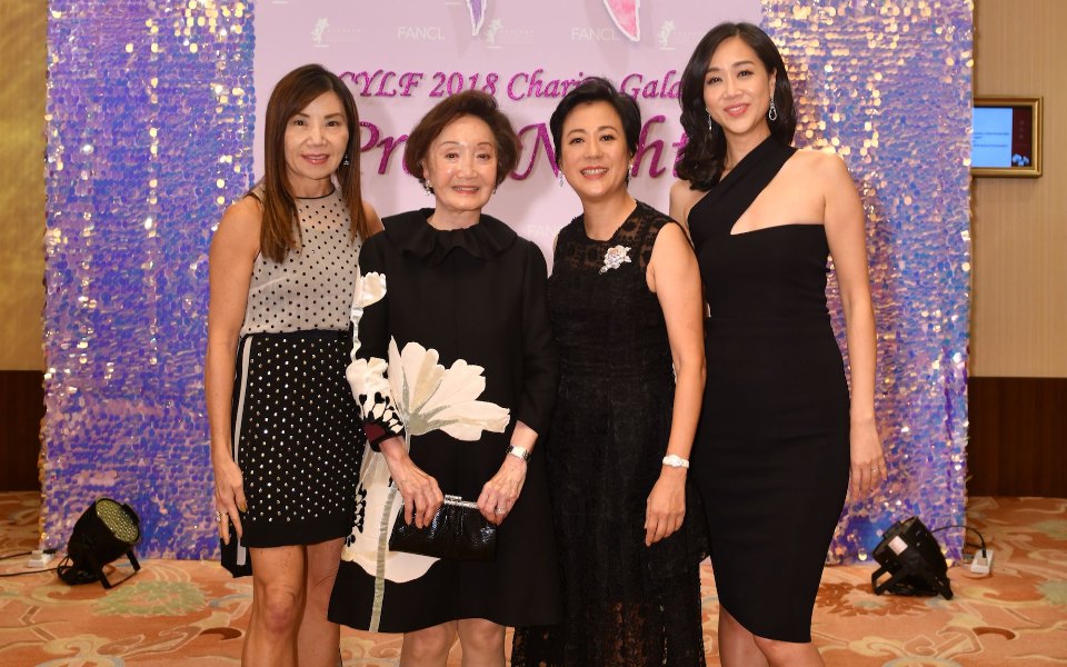 Esther Ma, Eleanor Wong, Yvette Ho, Angie Ting