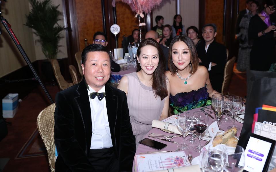 James Louey, Cissy Wang, Jane Louey