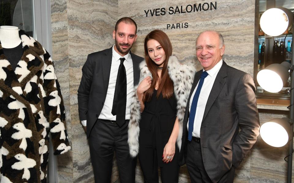 Thomas Salomon, Eleanor lam, Yves Salomon
