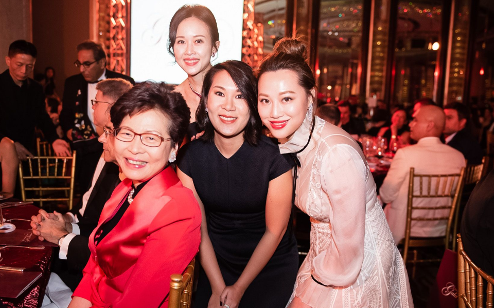 Carrie Lam, Jacqueline Chow, Charmaine Ho, Josephine Chiu
