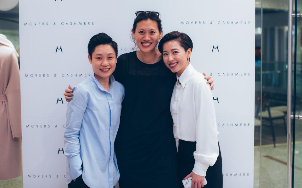 Bastian Wong, Marisa Yiu, Leslie Tsang