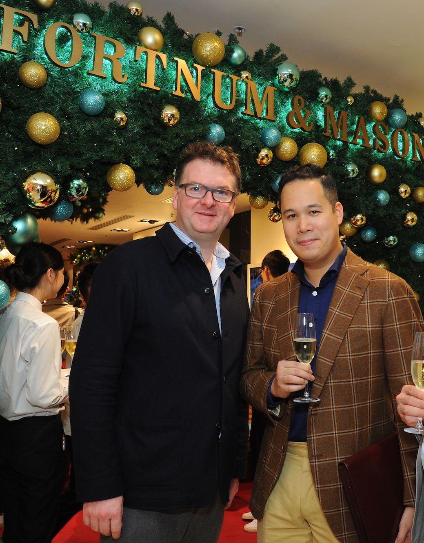 Ewan Venters, Brandon Chau