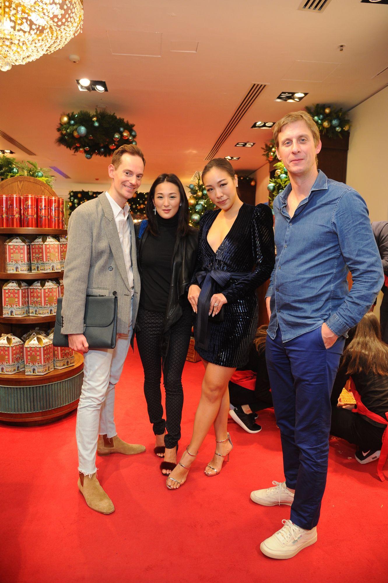 Arne Eggers, Antonia Li, Feiping Chang, Jake Astor