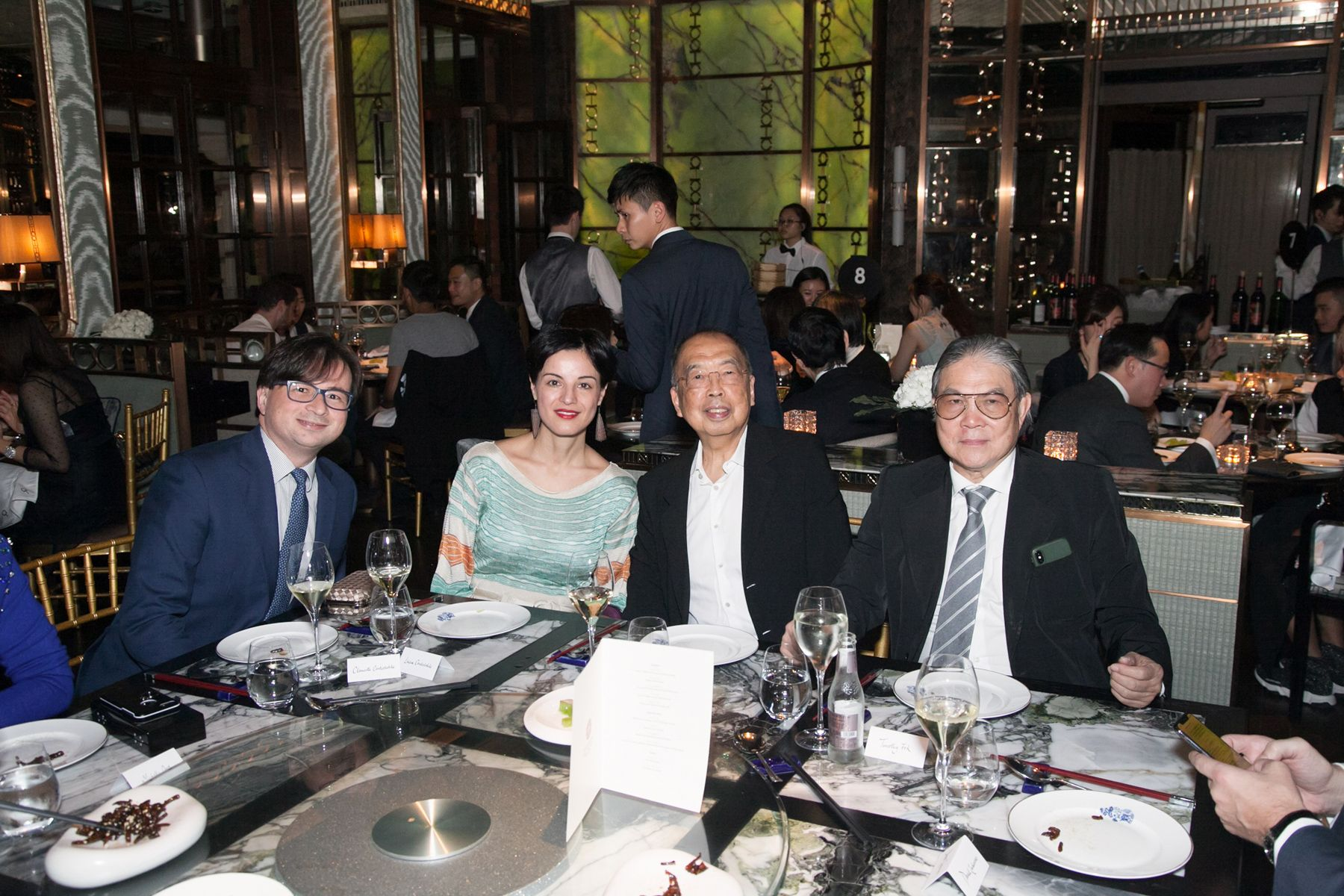 Clemente Contestabile, Lucia Pasqualini, David Cheung, Timothy Fok