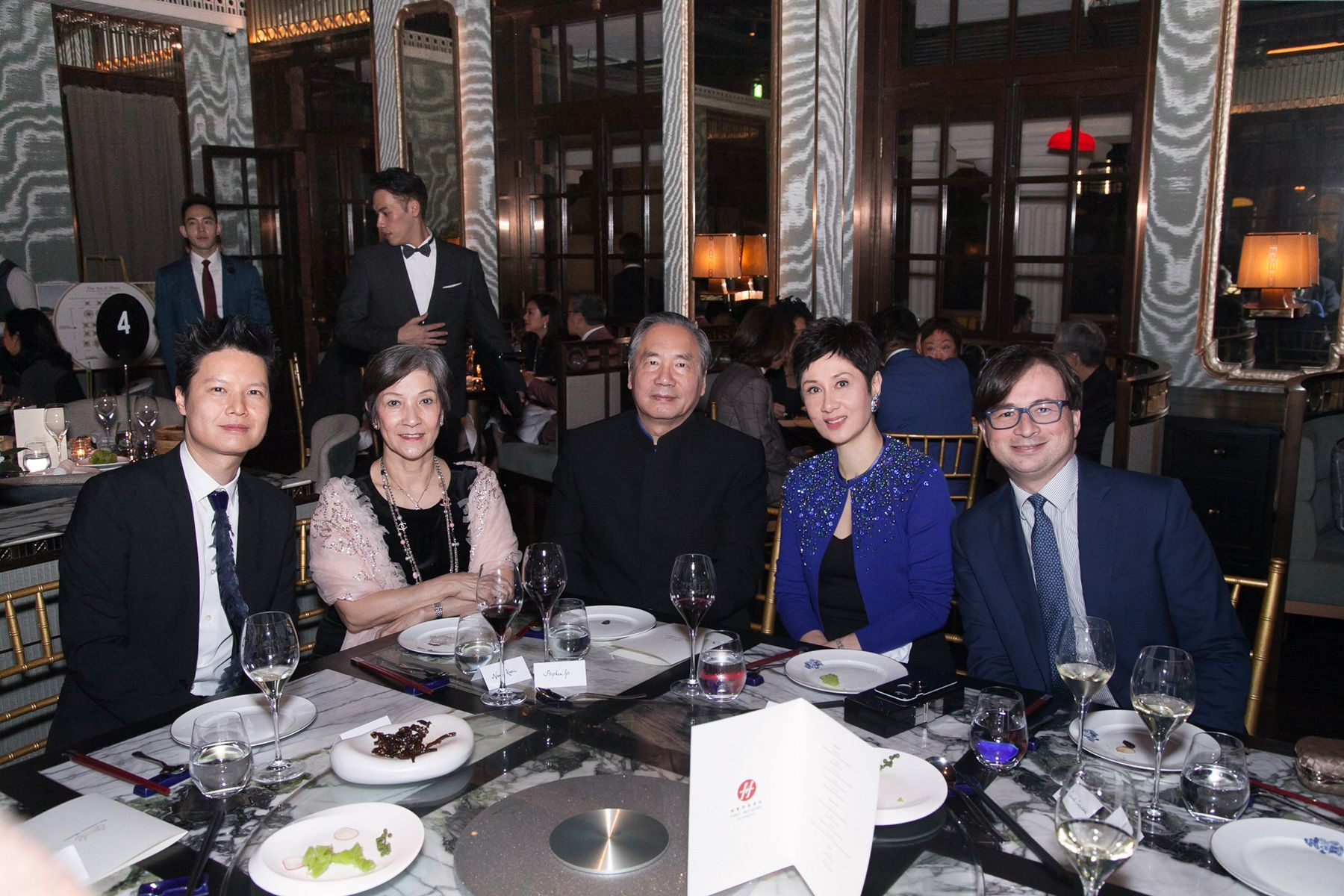 Leon Ko, Nancy Ip, Stephen Ip, Michelle Ong, Clemente Contestabile