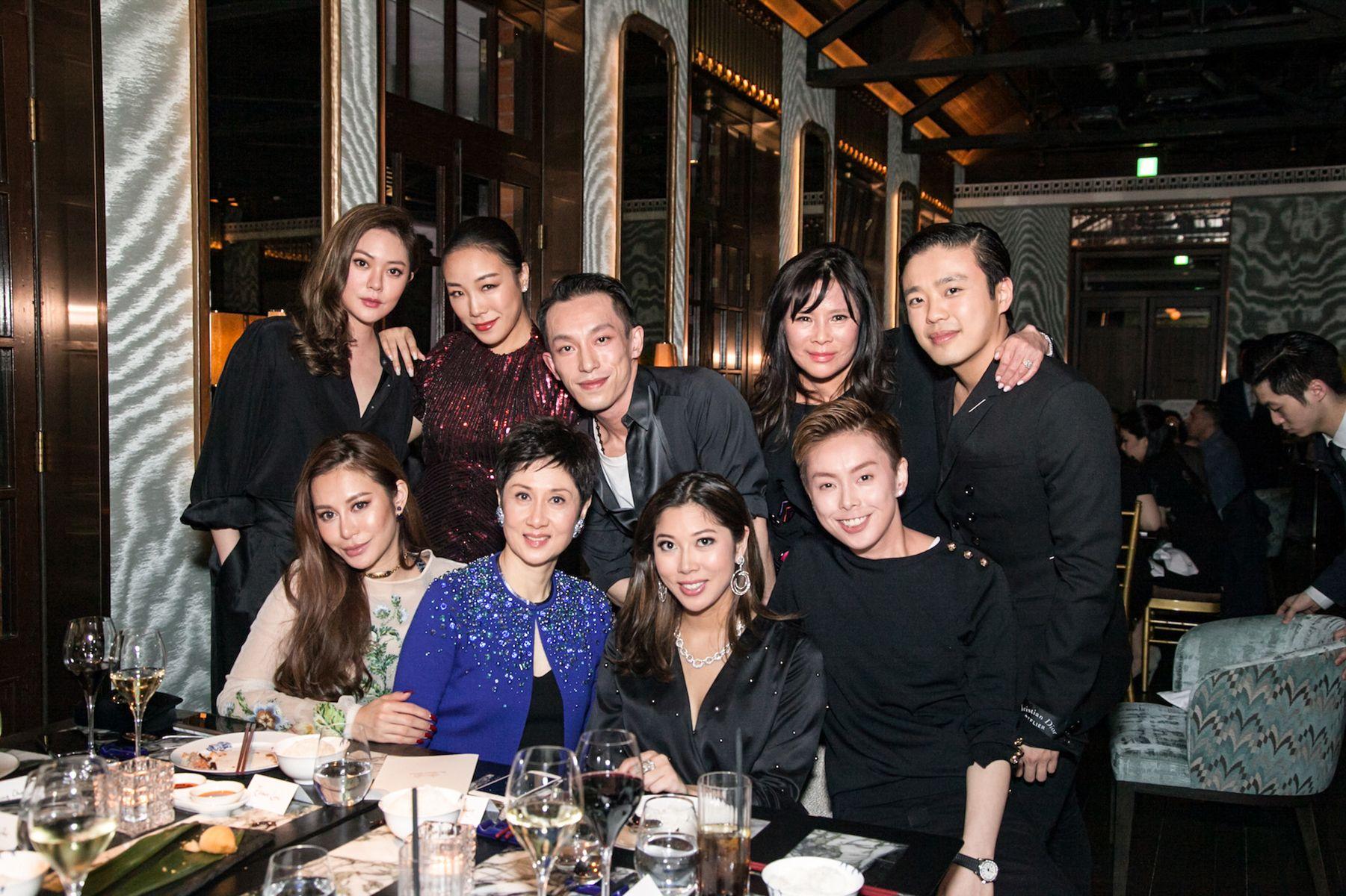 Standing - René Chu, Feiping Chang, Harris Chan, Yvette Yung, Jonathan Cheung. Seated - Eleanor Lam, Michelle Ong, Amanda Cheung, Tiffany Chan