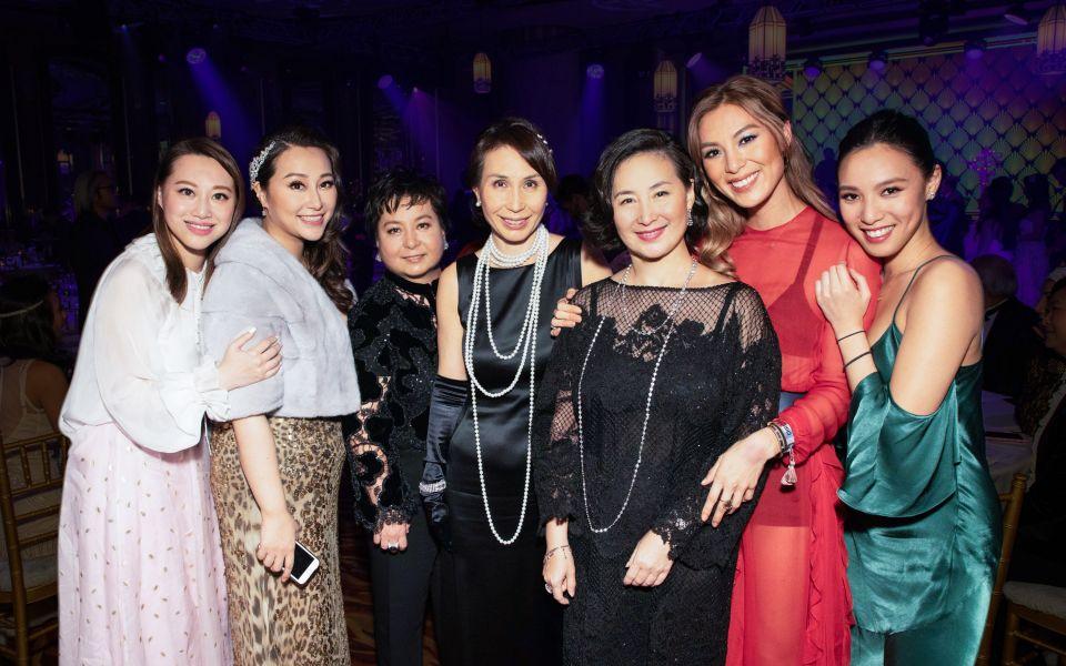 Josephine Chiu, Winnie Chiu, Maisy Ho, Daisy Ho, Pansy Ho, Alison Chan-El Azar, Adelene Chan