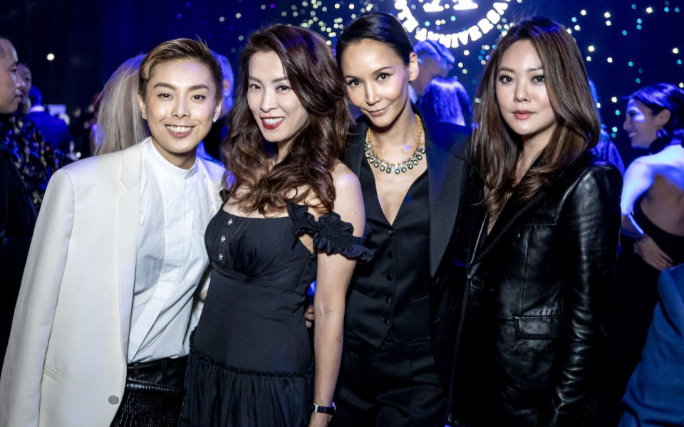 Tiffany Chan, Jolene Lin, Amanda Strang, René Chu