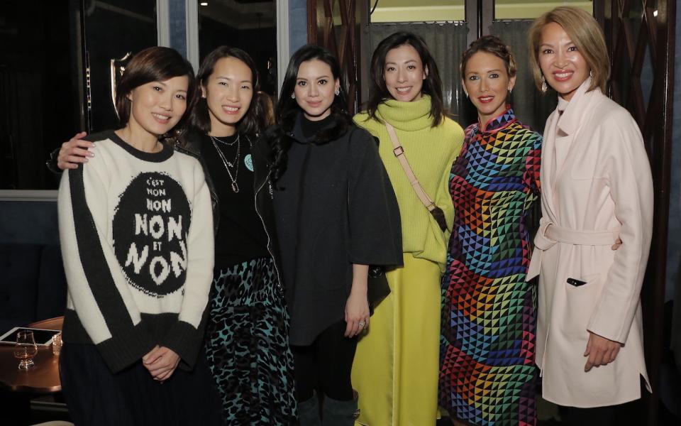 Tansy Lau,-Tom Sabrina Pang-Fung, Emily Lam-Ho, Sherry Fung, Claire Yates, Yolanda Choy-Tang