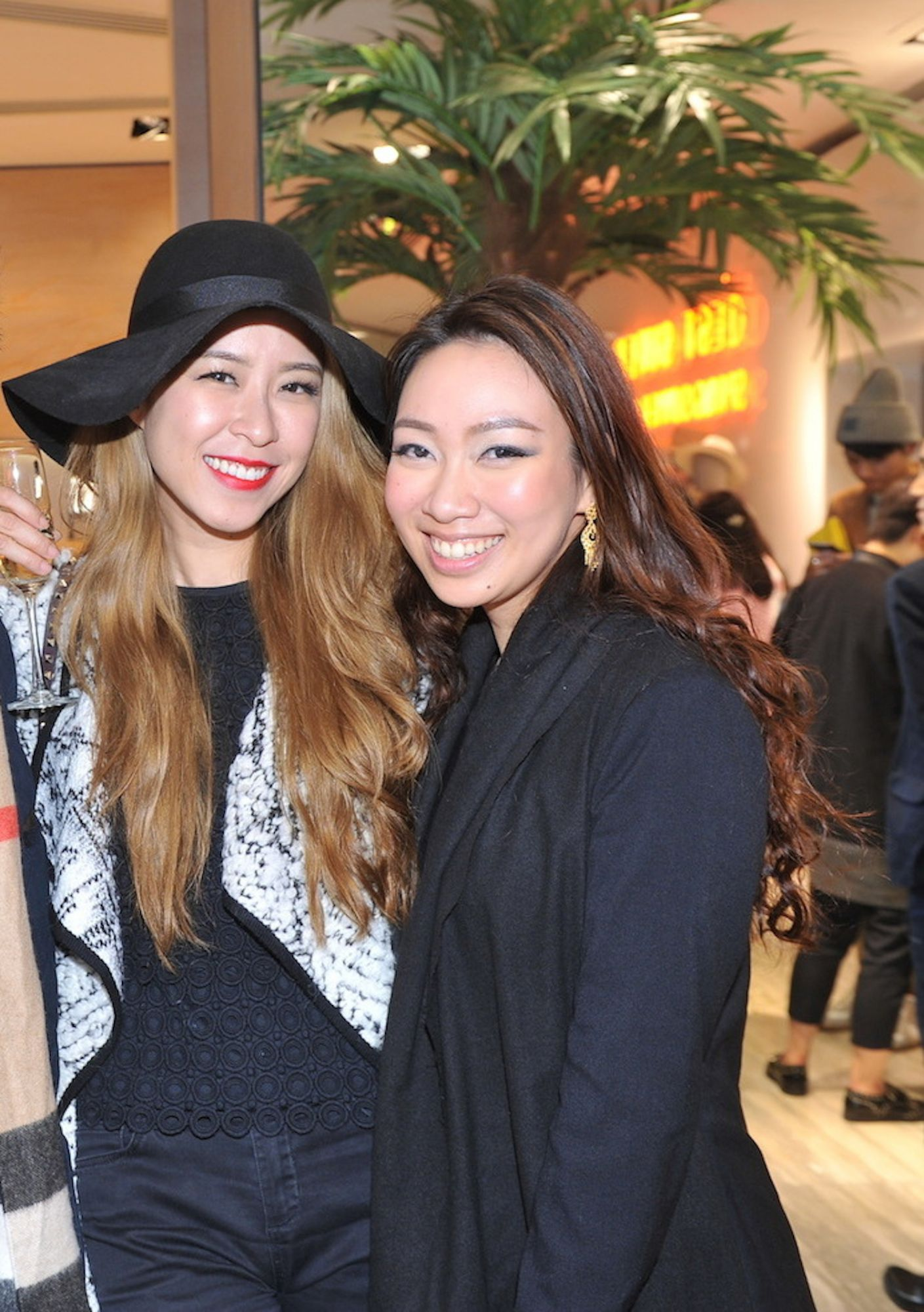 Jolie Chan and Veronica Lam