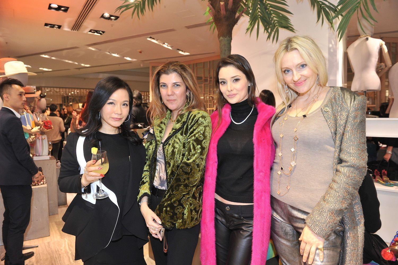 Rachel Park-Monballiu, Janana Suleymanli Pasha, Deborah Hung, and Olga Roh