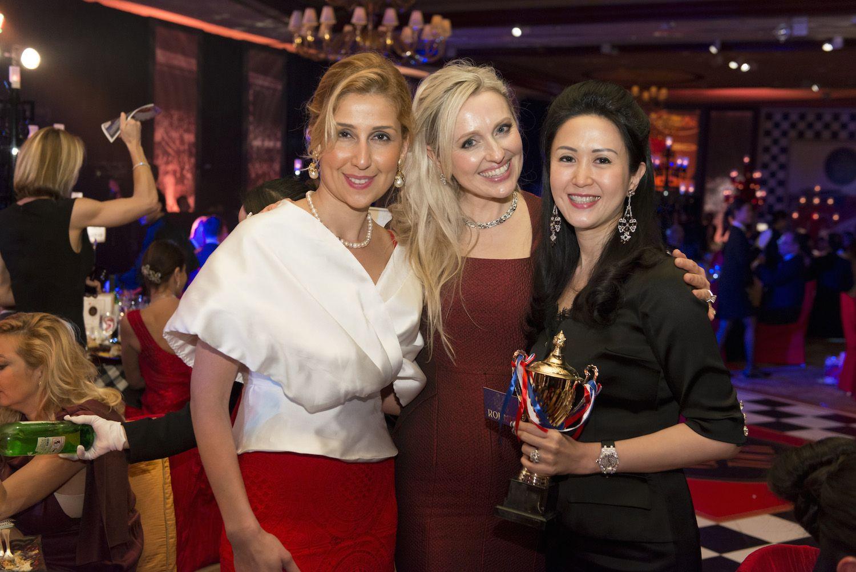 Ayten Mirzoyeva, Olga Roh and Lianne Lam