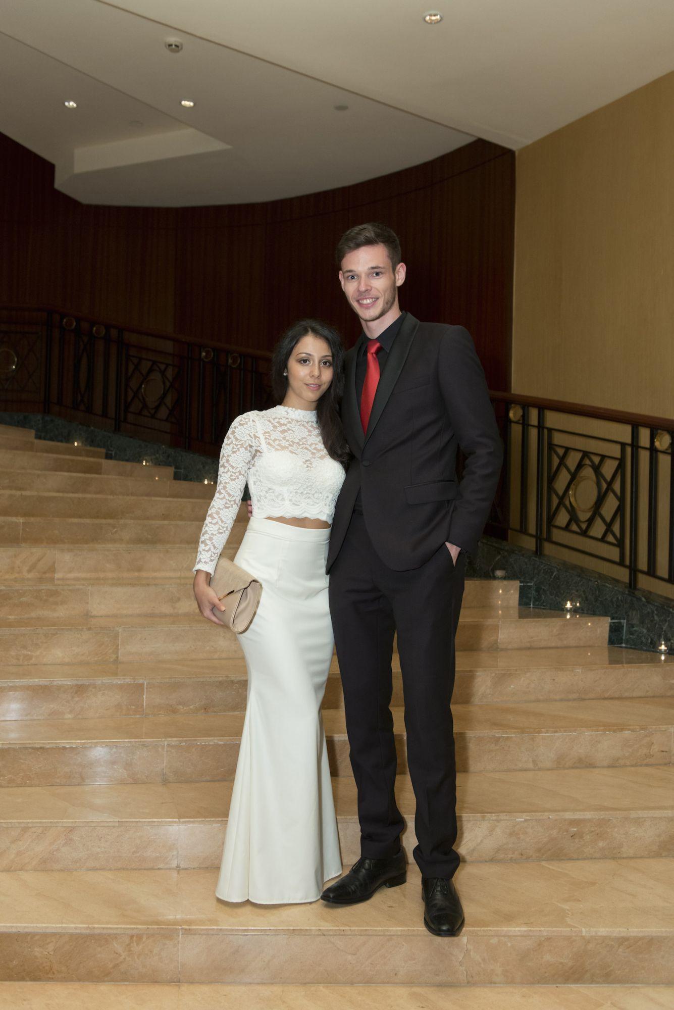 Heloise Chon and Dan Wells