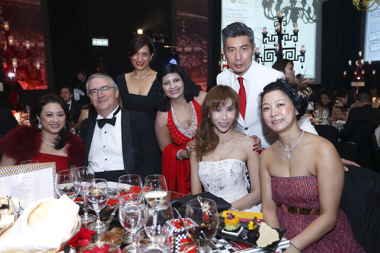 Heather Wong, Tom Royds, Rosie Sekhri, Aradhna Dayal, Mira Yeh, Kelvin Ma and Mini Poon