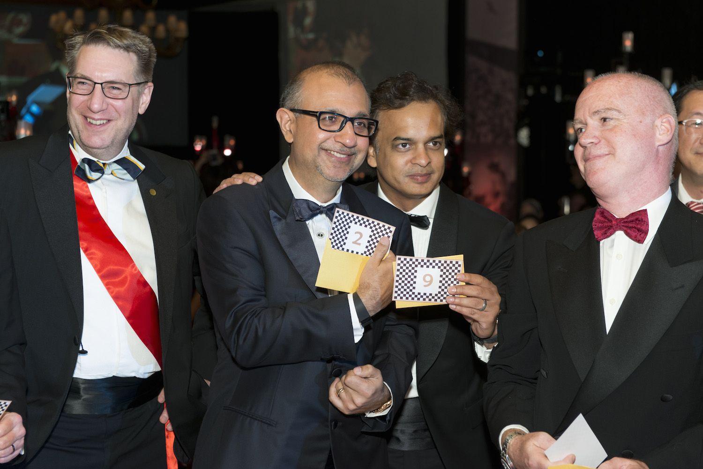 Jason Brockwell, Haresh Wadhwani, Joi Pasha and Andy Maynard