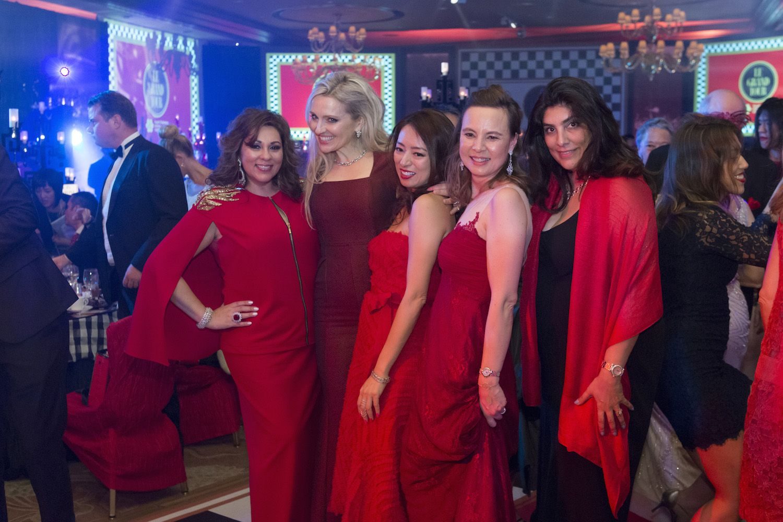 Rina Wadhwani, Olga Roh, Paula Mok, Joanna Hotung and Lena Harilela