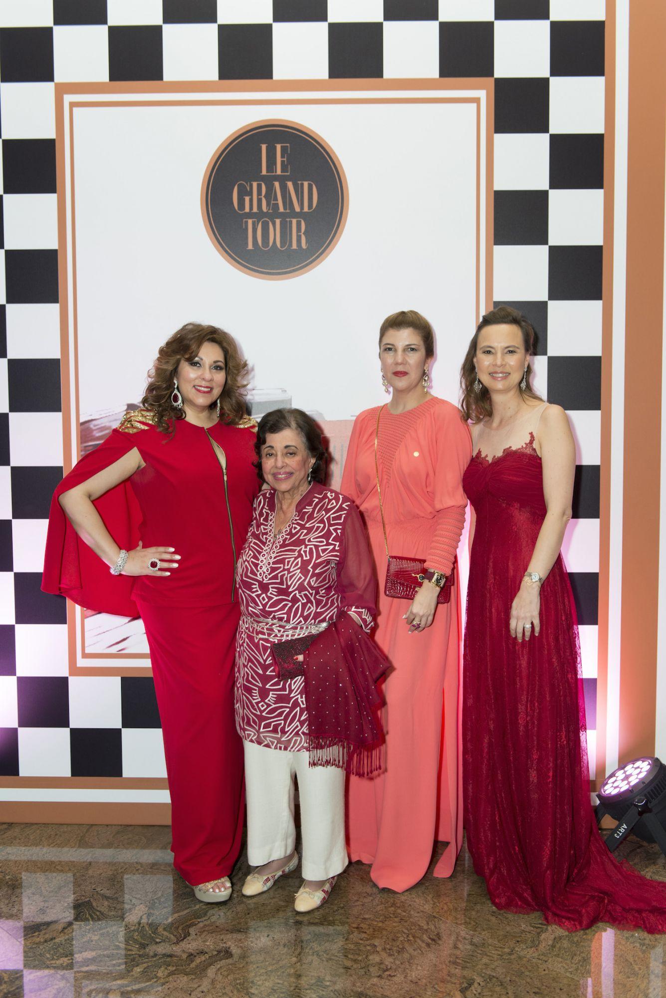 Rina Wadhwani, Purviz Shroff, Janana Suleymanl and Joanna Hotung