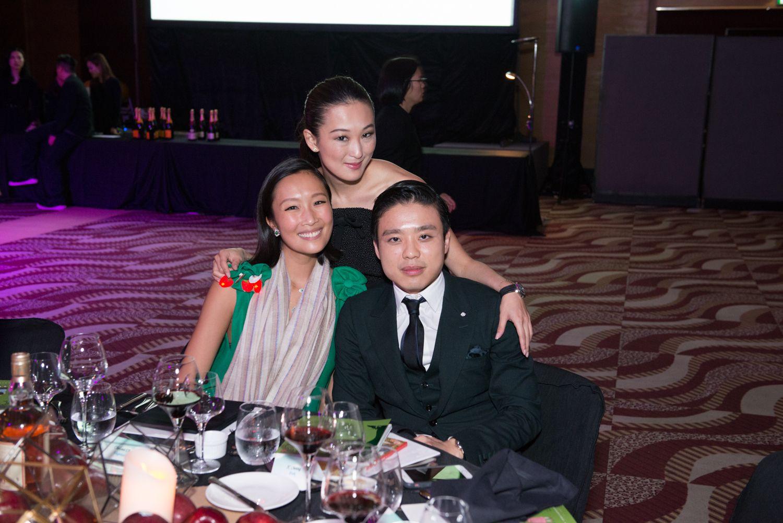 Chelsea Chau, Antonia Li and Jonathan Cheung