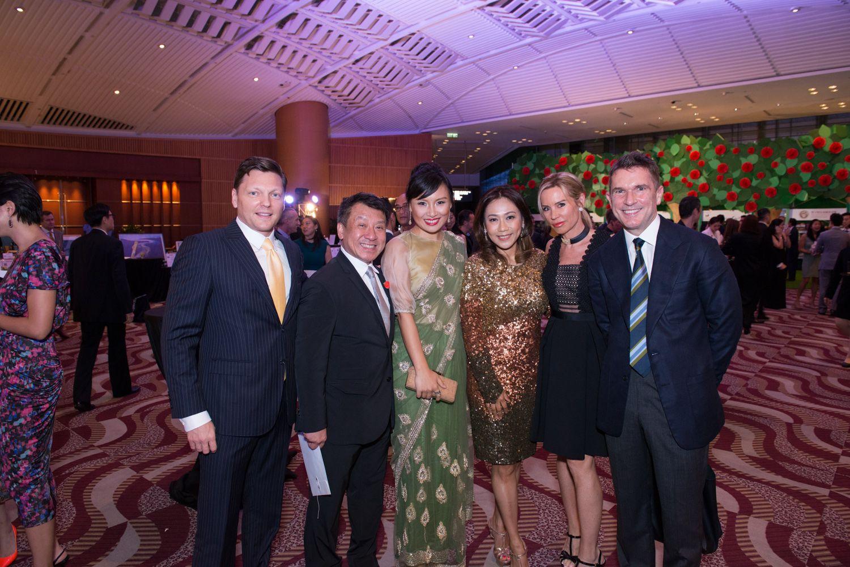 Daniel Green, Nissim Tse, Jennifer Zhu Scott, Sharie Ross-Tse, Annabelle Bond and Christopher Jackson