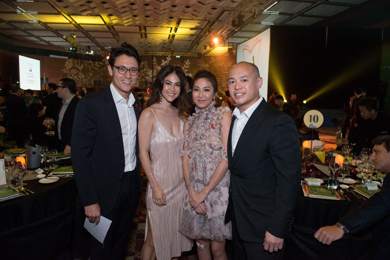 Edward Buttery, Paula Buttery, Adrienne Hui and Justin Hui