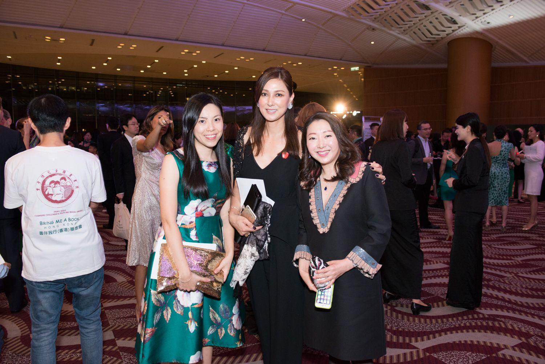 Eurosia Ng, Nancy Sun and Winnie Chan