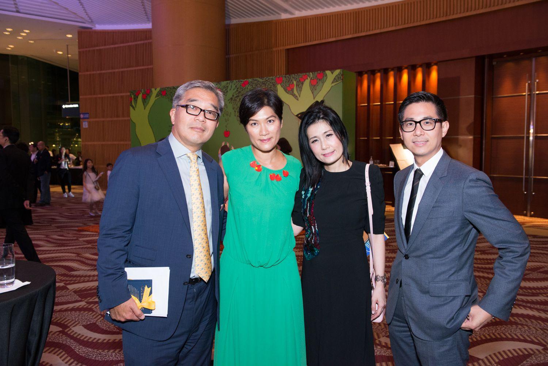 James Chen, Su Lee Chen, Denise Lo and Derrick Au