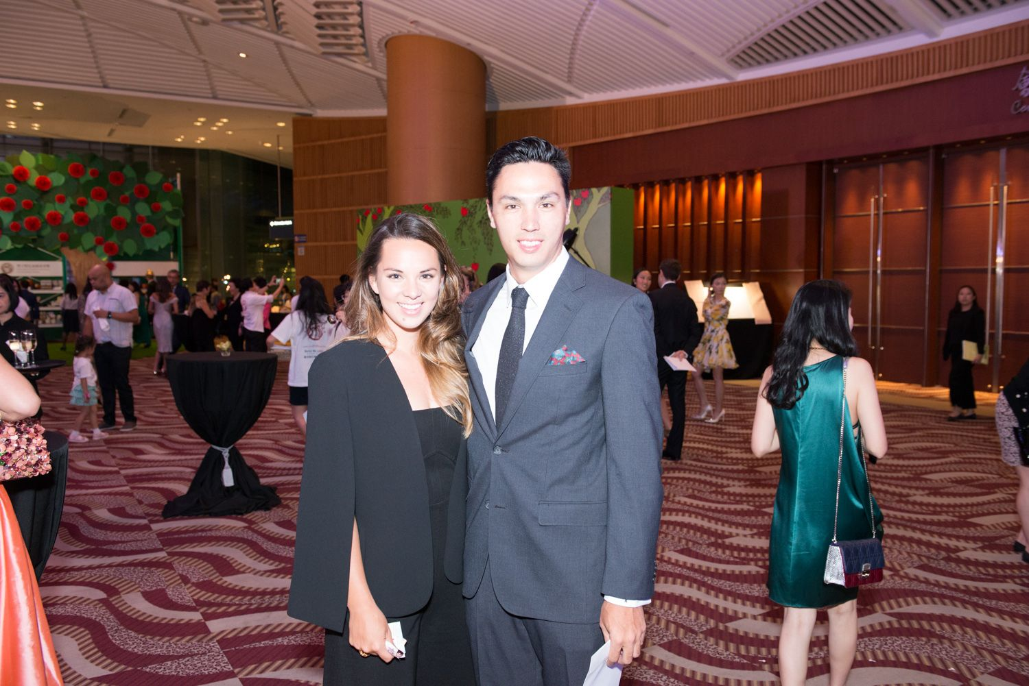 Jessica Cheng and Adam Raby