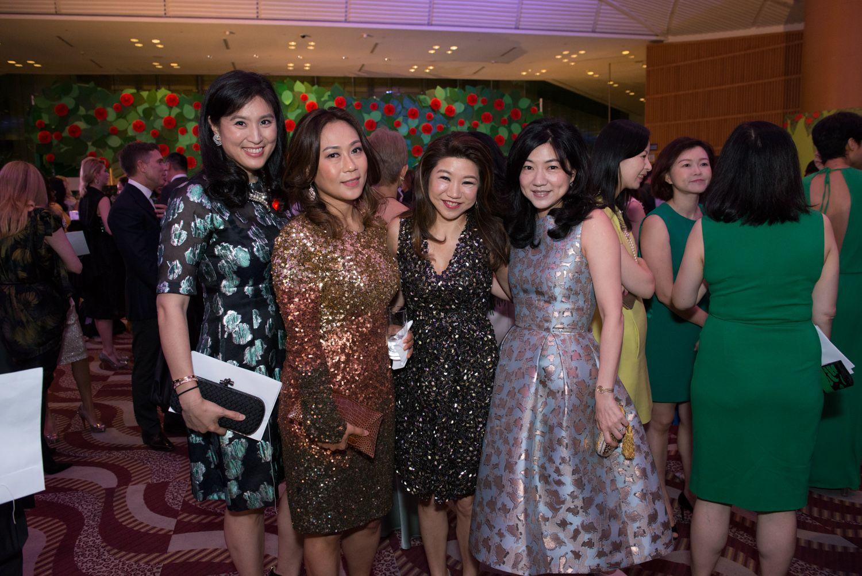 Leigh Tung-Chou, Sharie Ross-Tse, Vanessa Kwan and Viola Cheong