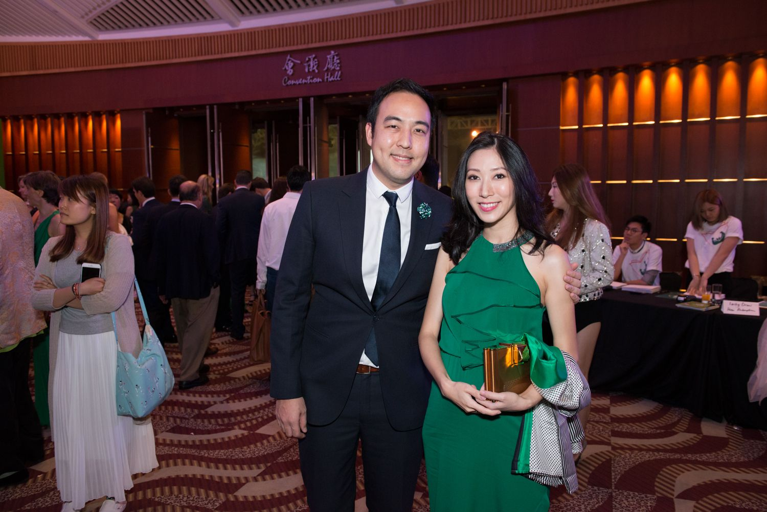 Leonard Chao and Candice Chan-Chao
