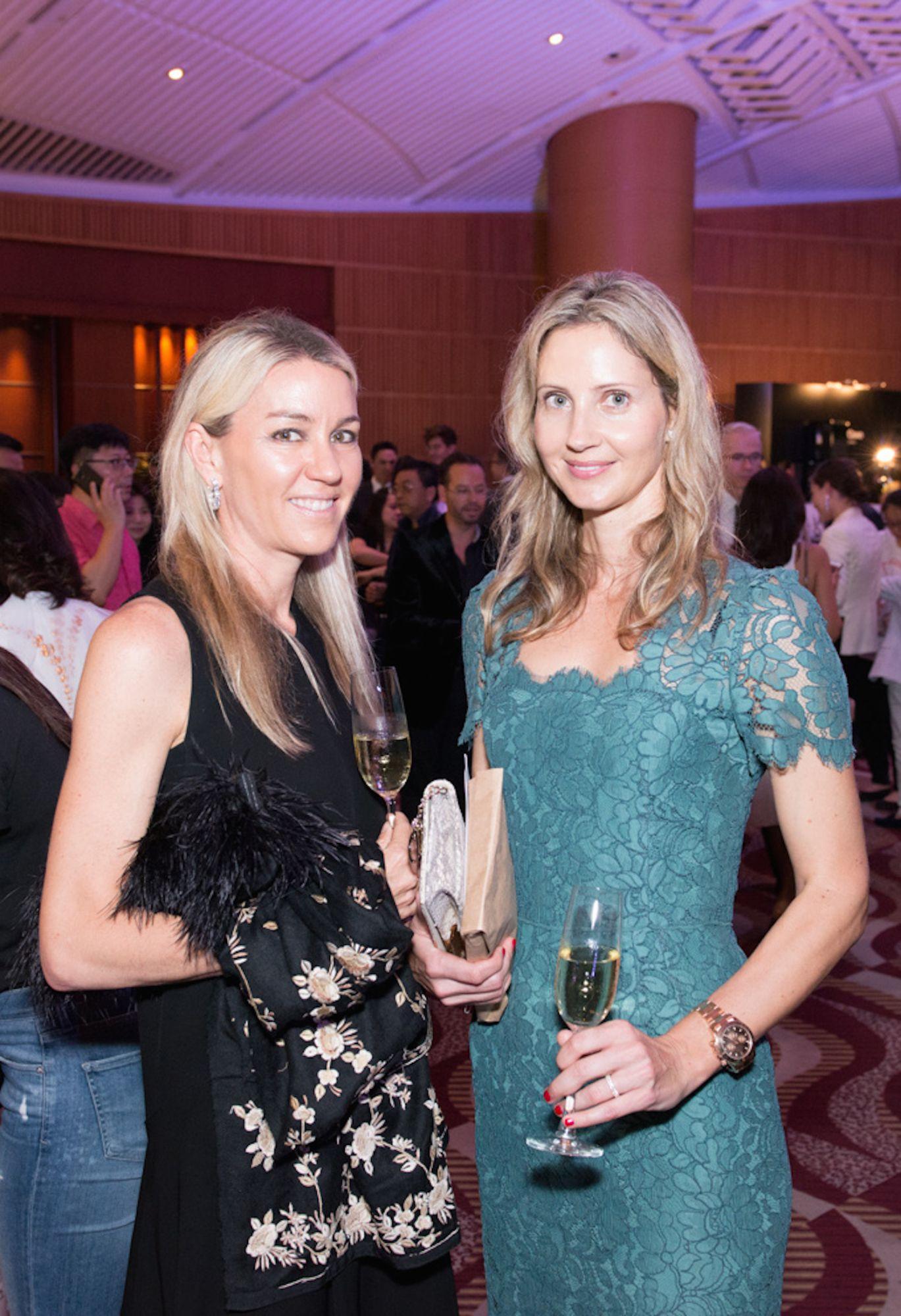 Lucy Bond-Marriott and Tamara Varga
