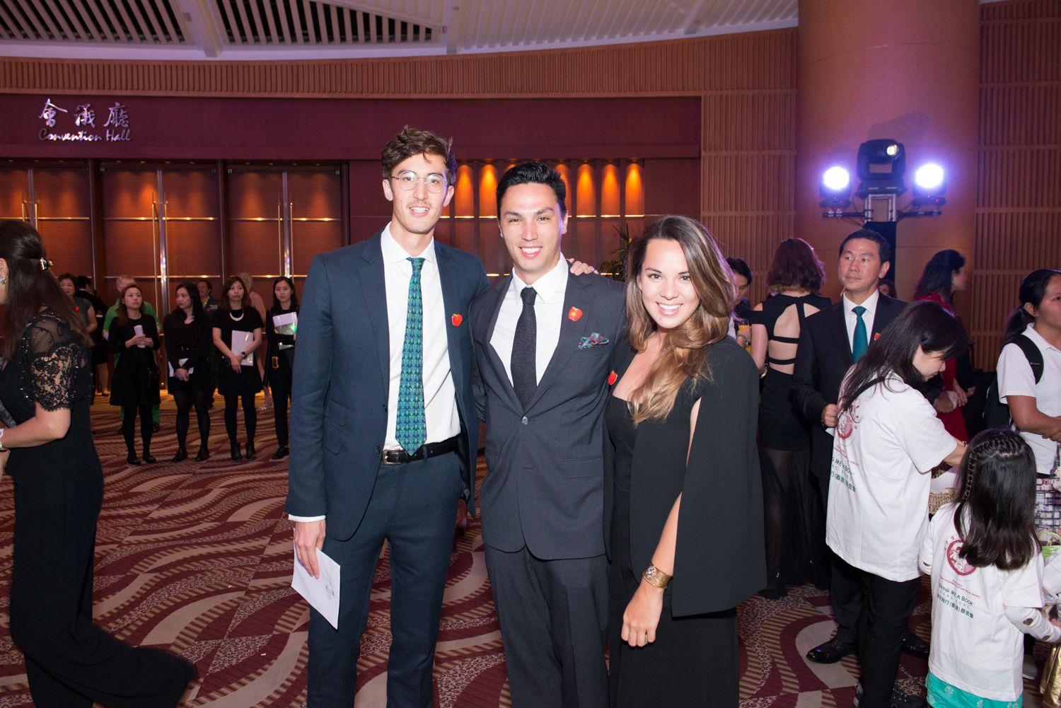 Nick Buckley-Wood, Adam Raby and Jessica Cheung