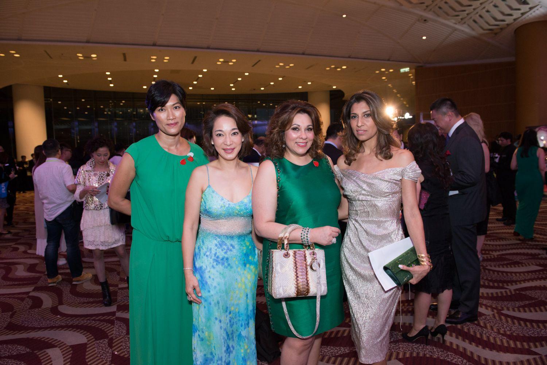 Su Lee Chen, Shirley Kuan, Rina Wadhwani and Malti Dialdas