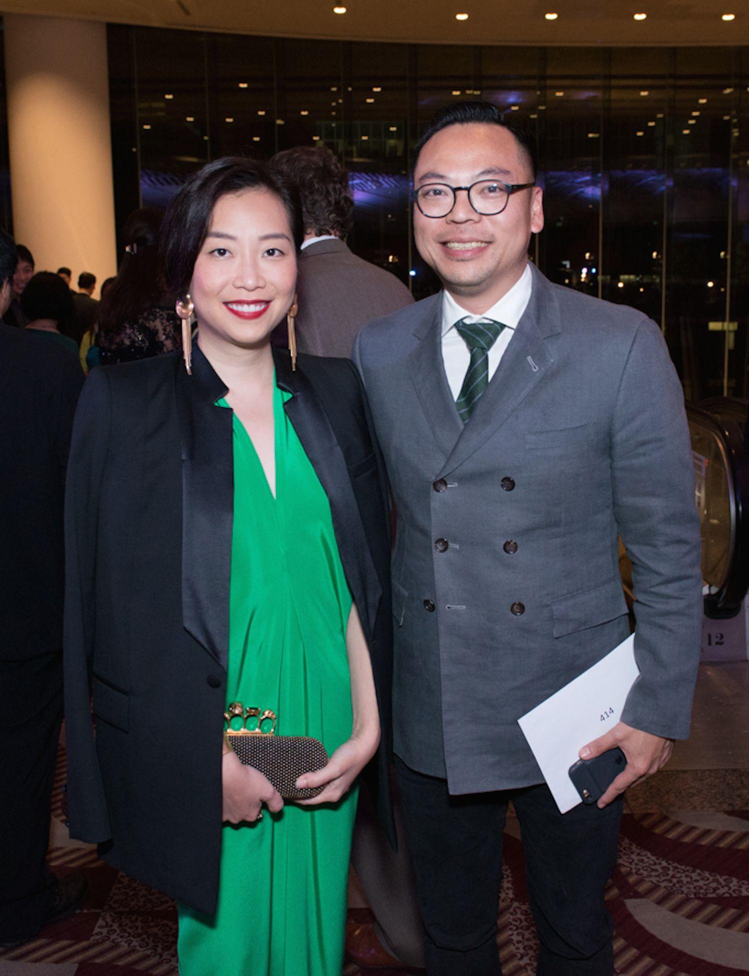 Yenn Wong and Alan Lo