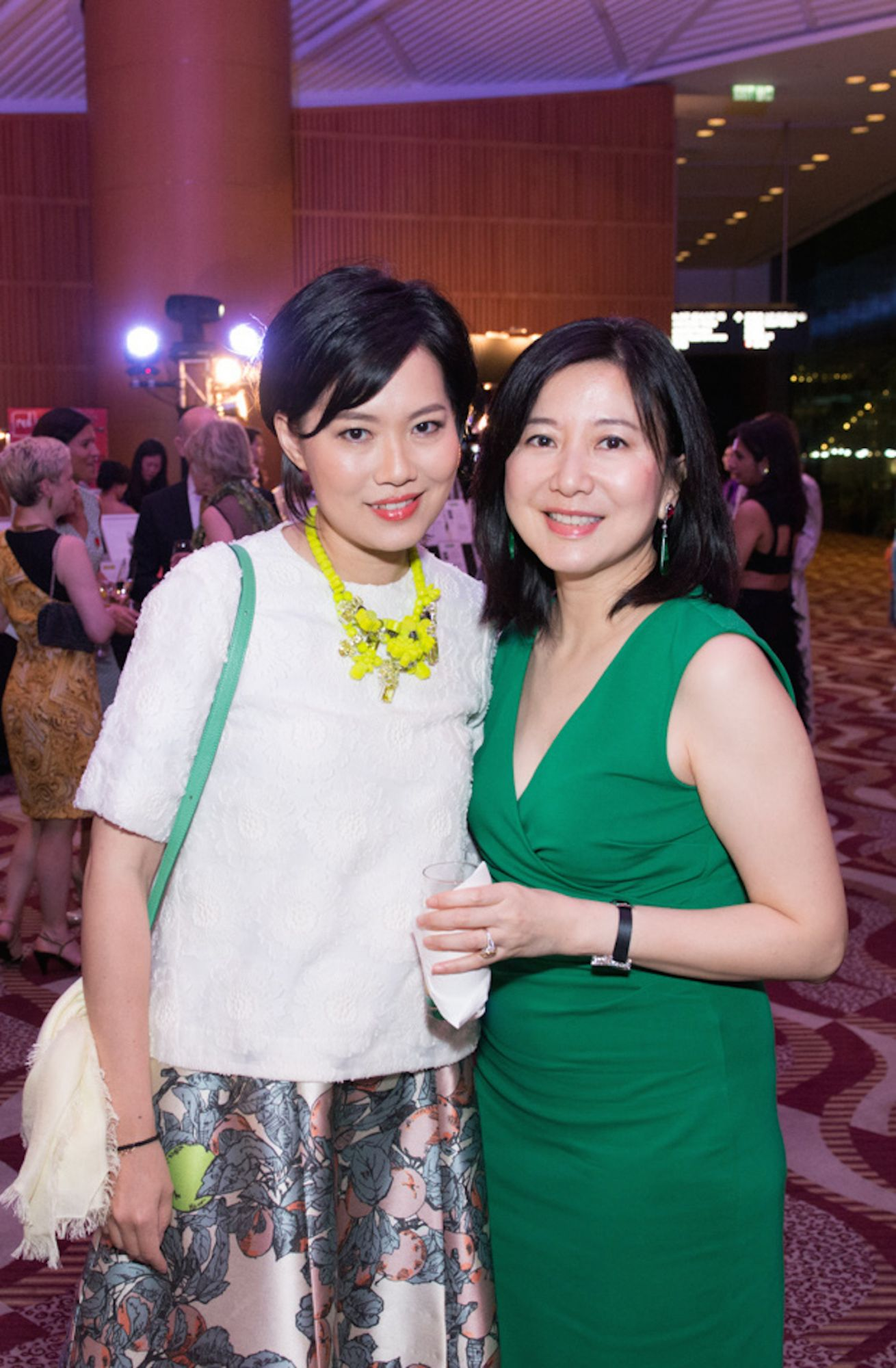 Tansy Lau-Tom and Cherry Tang
