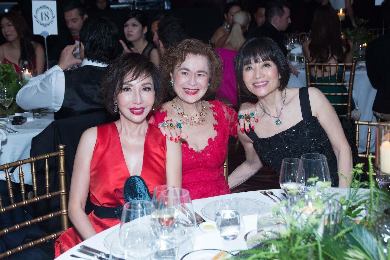 Olivia Lee-Davies, Carol Murray and Monica Wong