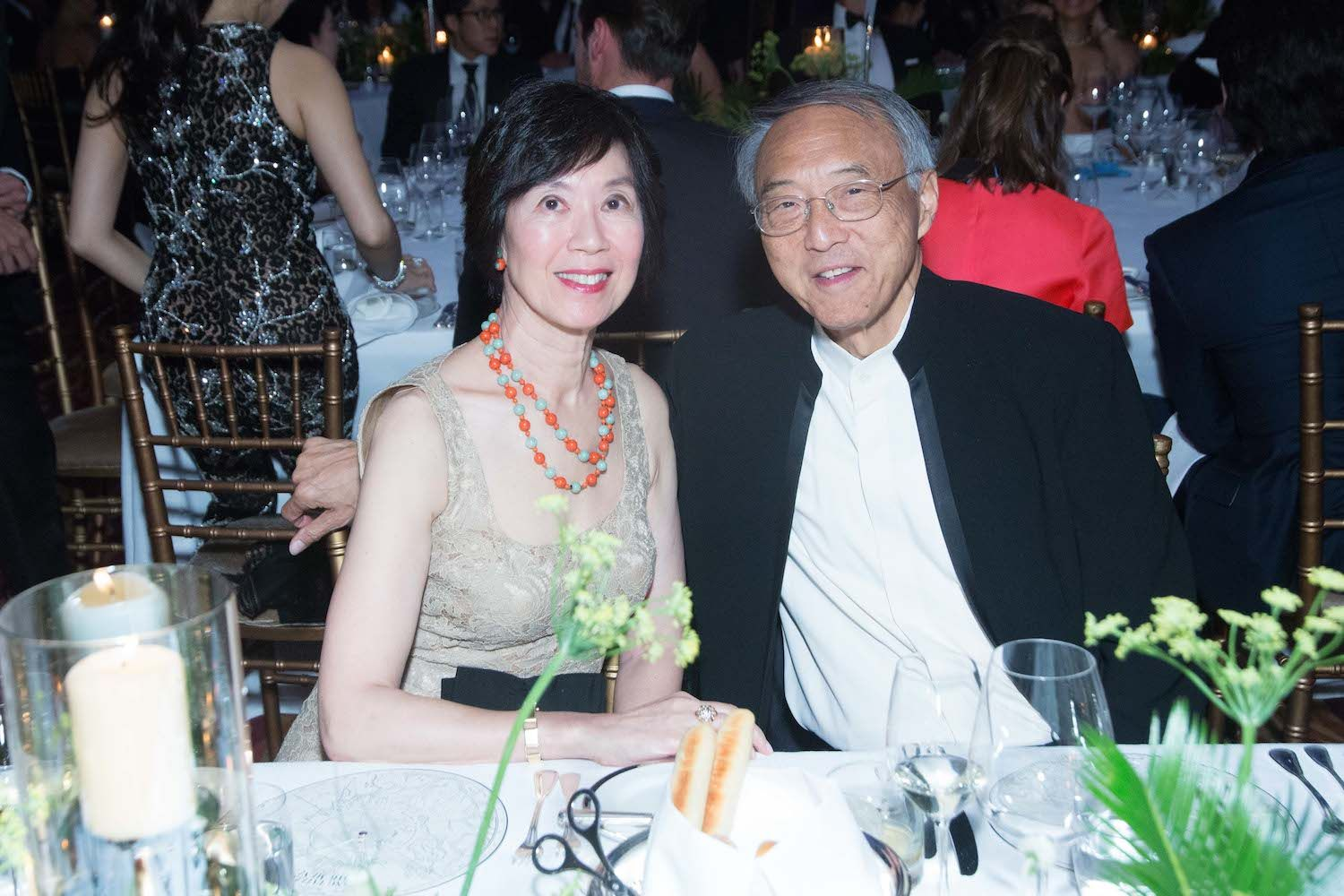 Harriet Tung and Chee-chen Tung