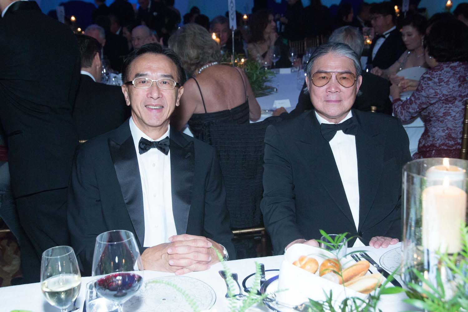 James Tien and Timothy Fok